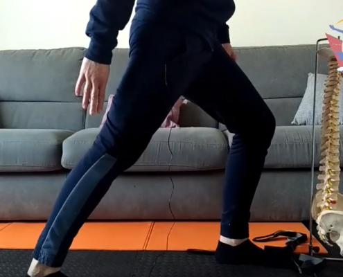 Osteopata Teramo Stretching Caviglia
